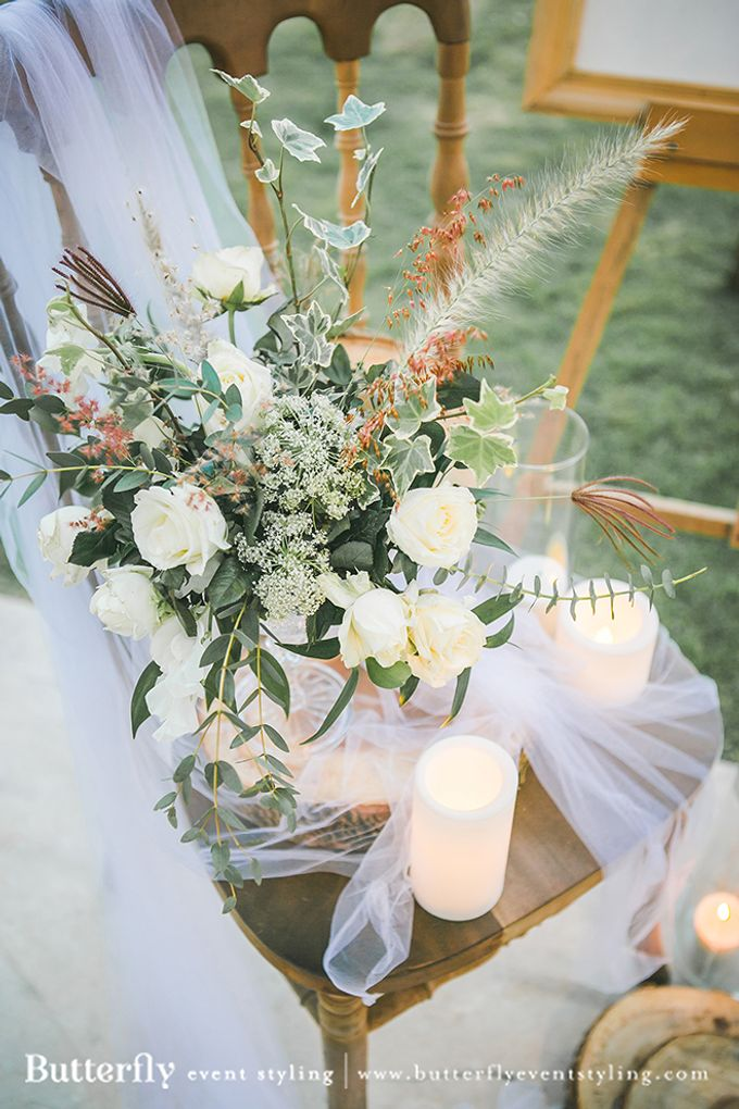 Rustic by the Beach by Butterfly Event Styling - 015