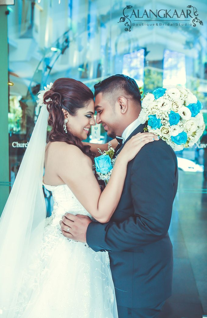 Tinesh & Rekha by Alangkaar Bridal Studio - 001