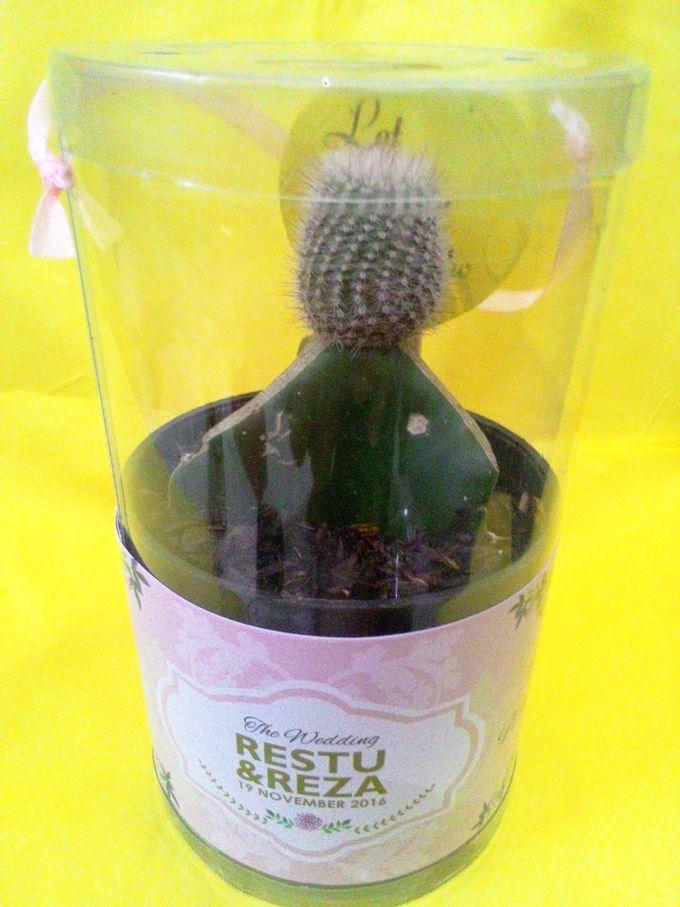 Beautiful Green Souvenir Restu & Reza by Jolie Belle - 007