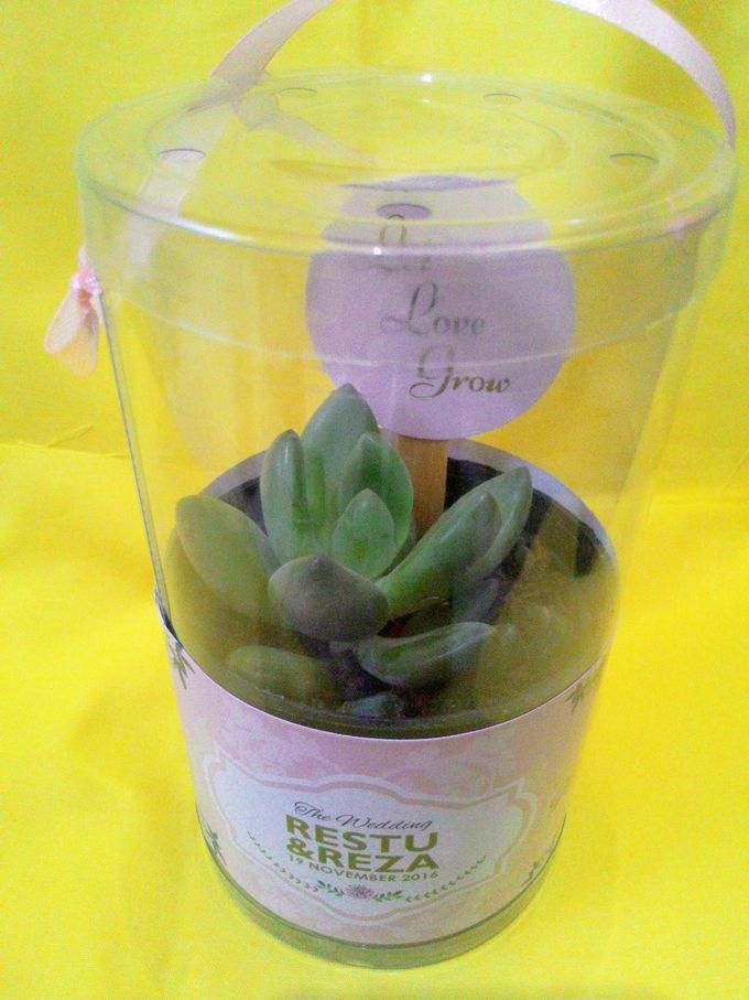 Beautiful Green Souvenir Restu & Reza by Jolie Belle - 009