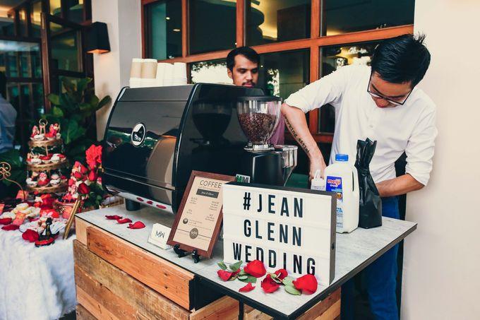 Wedding of celebrity DJs Glenn Ong & Jean Danker by Of Mice And Men - Mobile Coffee - 002