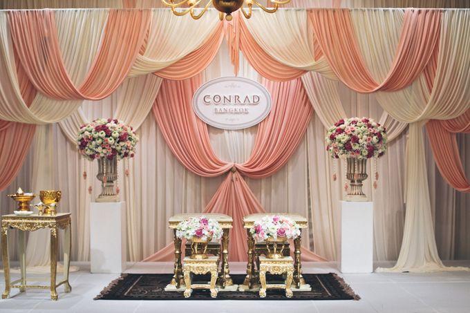 Weddings At Conrad Bangkok by Conrad Bangkok - 019