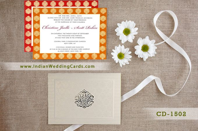 Latest Designer Collection Invitations are in Stores Now by IndianWeddingCards - 003