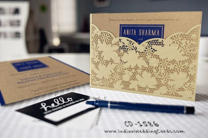 Latest Designer Collection Invitations are in Stores Now by IndianWeddingCards - 001