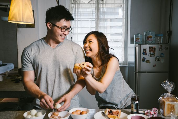 Turn your daily life into Engagement Portrait by Celestial Gallery - 023