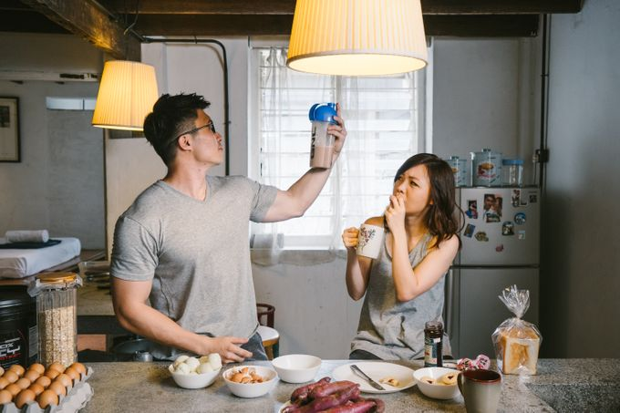 Turn your daily life into Engagement Portrait by Celestial Gallery - 025