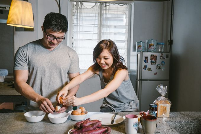 Turn your daily life into Engagement Portrait by Celestial Gallery - 019