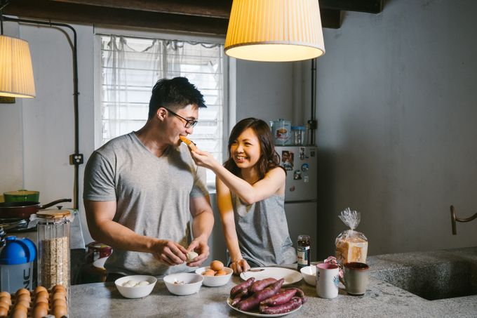 Turn your daily life into Engagement Portrait by Celestial Gallery - 022
