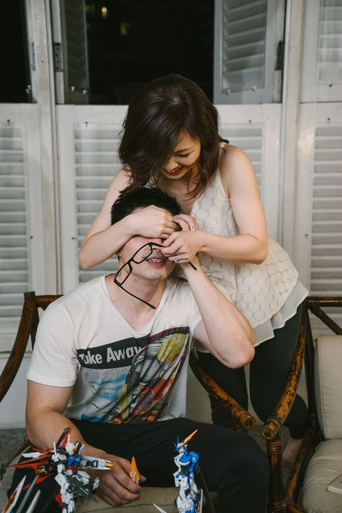 Turn your daily life into Engagement Portrait by Celestial Gallery - 045