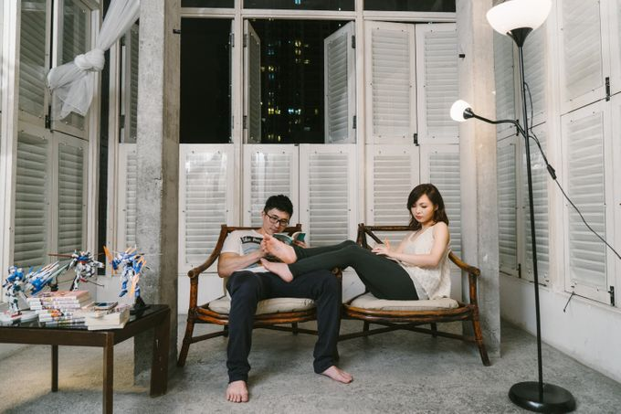 Turn your daily life into Engagement Portrait by Celestial Gallery - 029