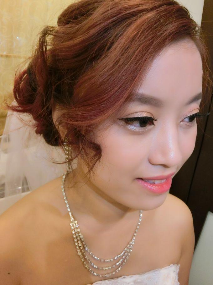 Bride Actual Day by Suz Make Up & Hairdo - 005