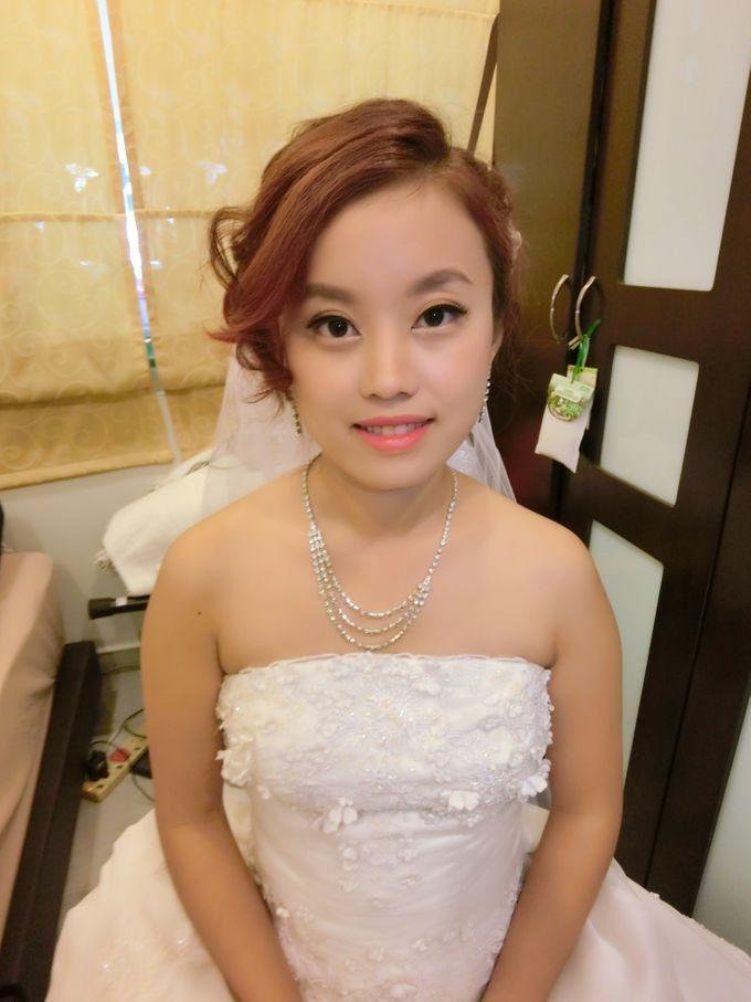 Bride Actual Day by Suz Make Up & Hairdo - 004