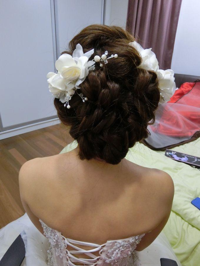 Bride Actual Day by Suz Make Up & Hairdo - 009