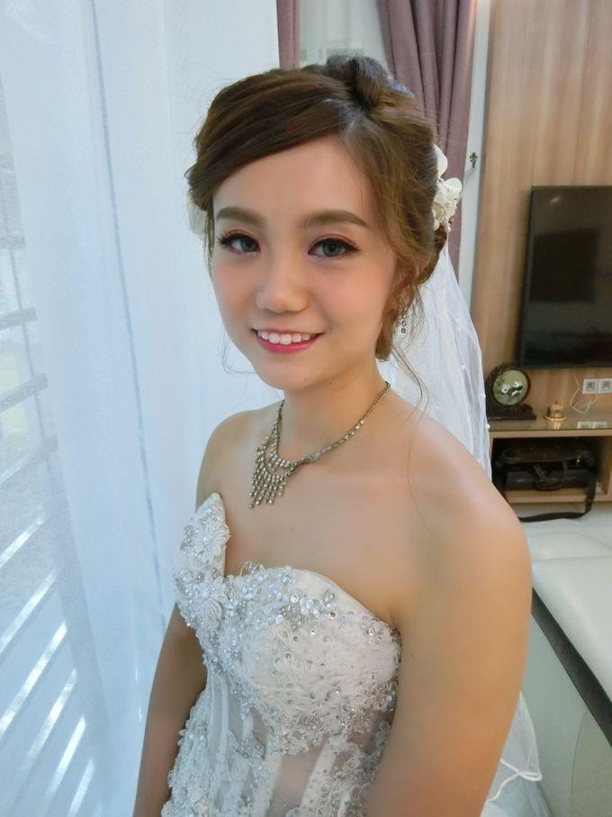 Bride Actual Day by Suz Make Up & Hairdo - 008