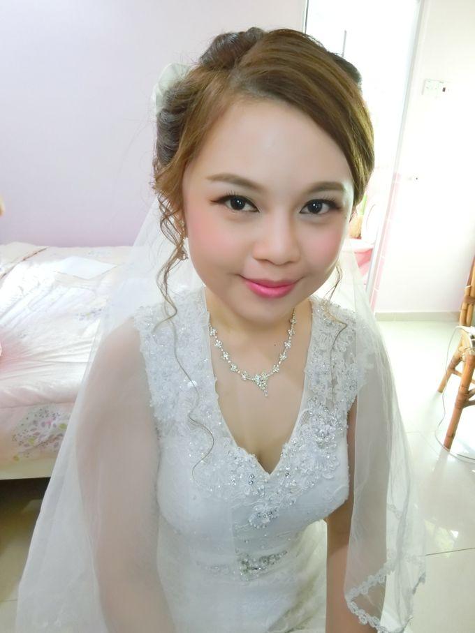 Bride Actual Day by Suz Make Up & Hairdo - 012