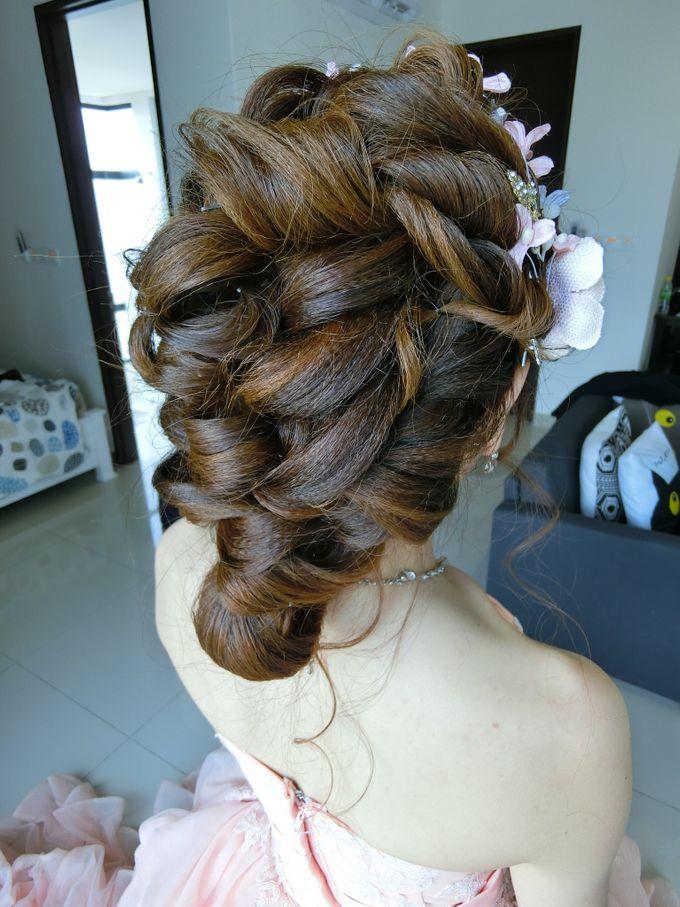 Bride Actual Day by Suz Make Up & Hairdo - 011