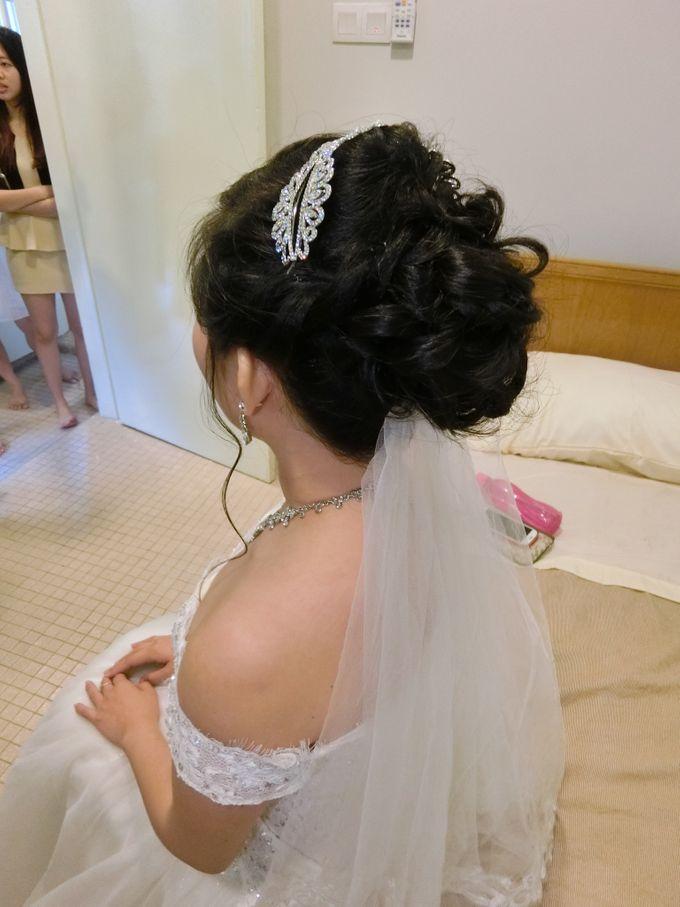 Bride Actual Day by Suz Make Up & Hairdo - 007