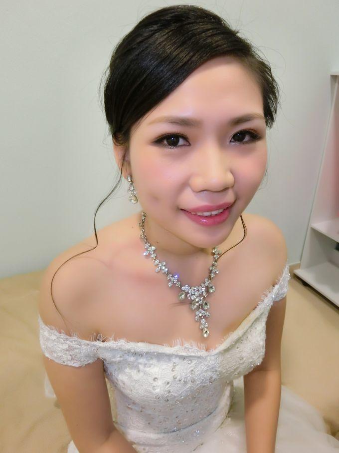Bride Actual Day by Suz Make Up & Hairdo - 006