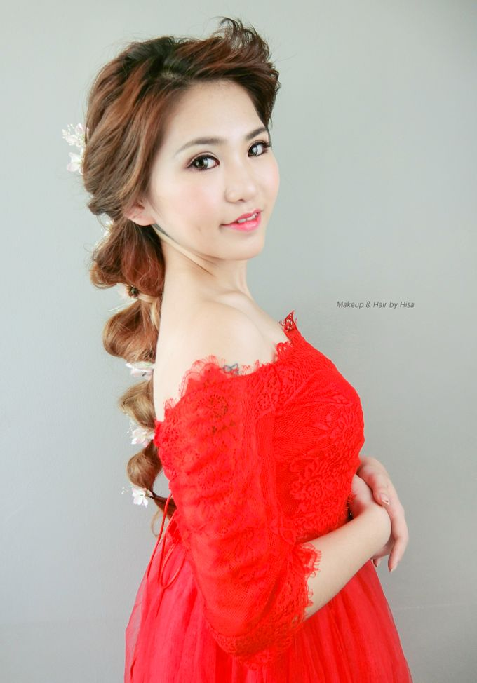 Red Wedding Gown Makeup By Cocoon Makeup And Hair Bridestorycom