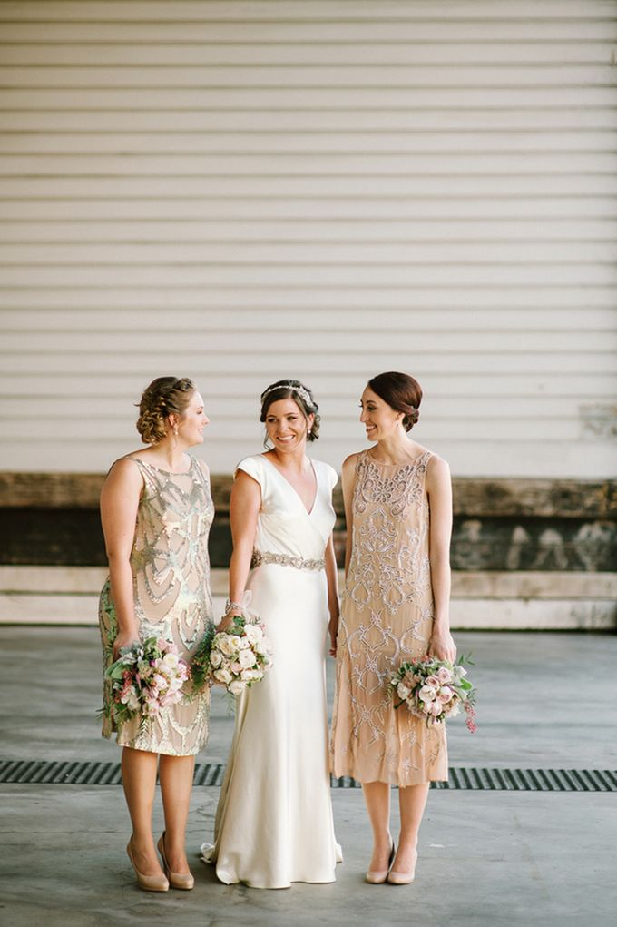 A Vintage Inspired Wedding by En Saison - 008