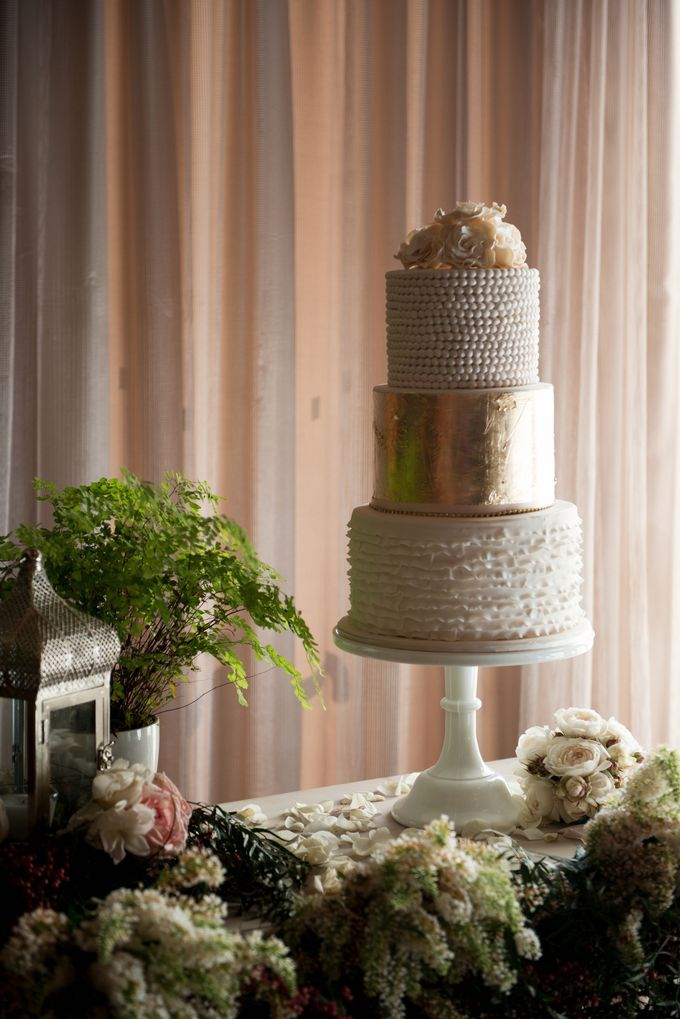 Wedding Cakes in the Hunter Valley by Project Cake - 008