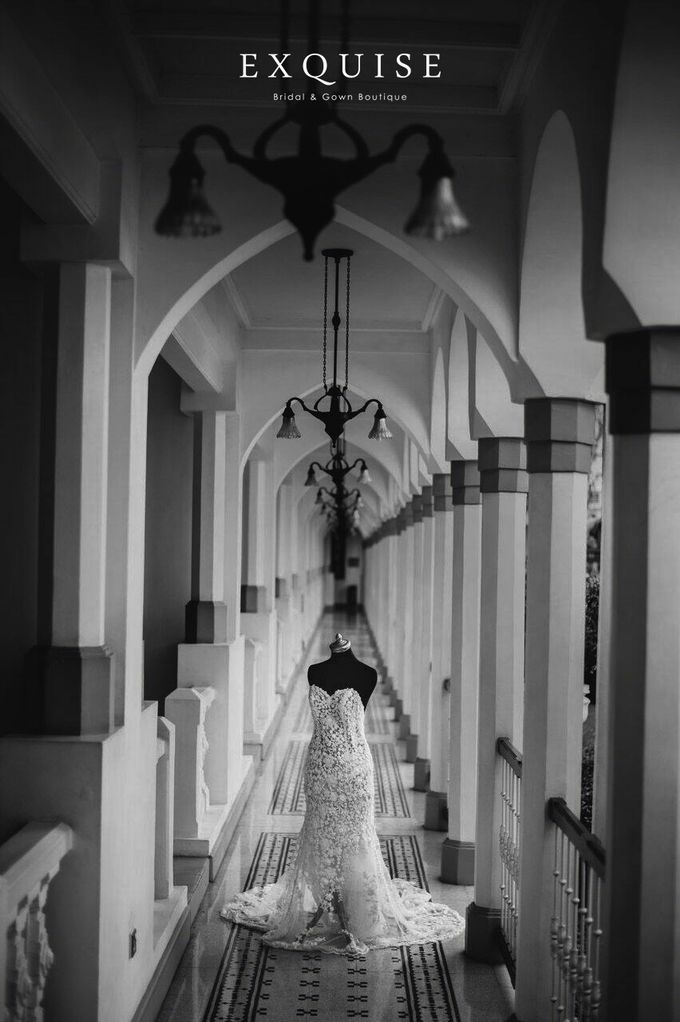 Colleen and Christian Wedding by Exquise Gowns - 001