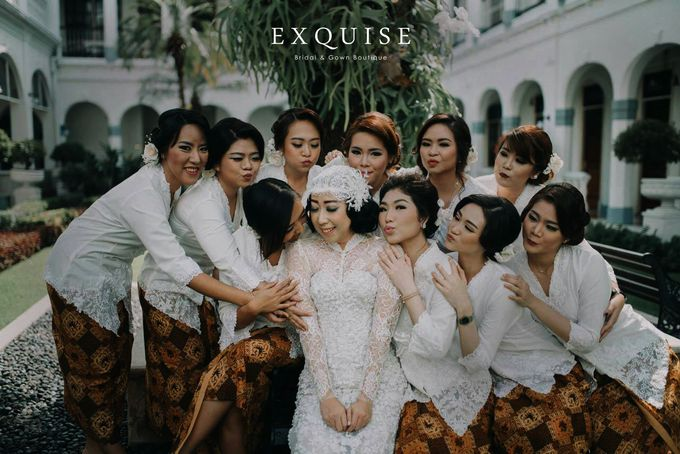 Colleen and Christian Wedding by Exquise Gowns - 002
