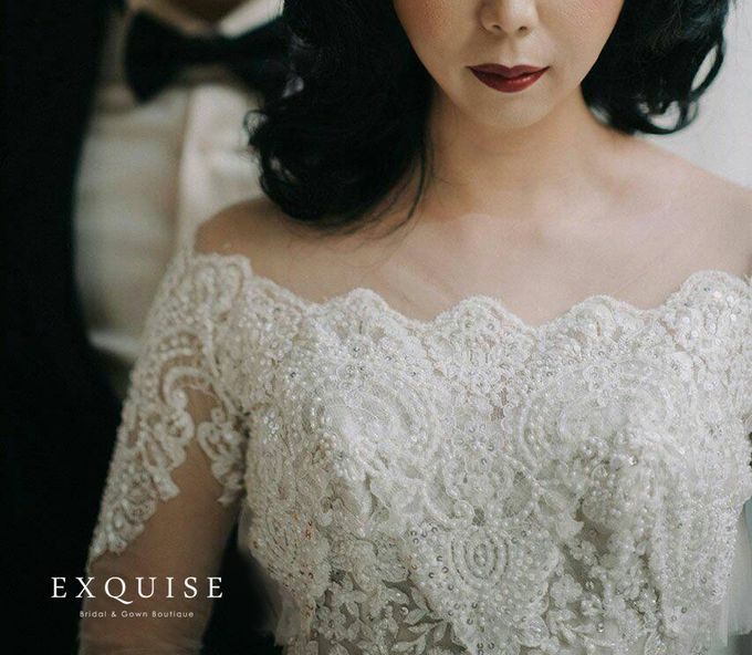 Colleen and Christian Wedding by Exquise Gowns - 003