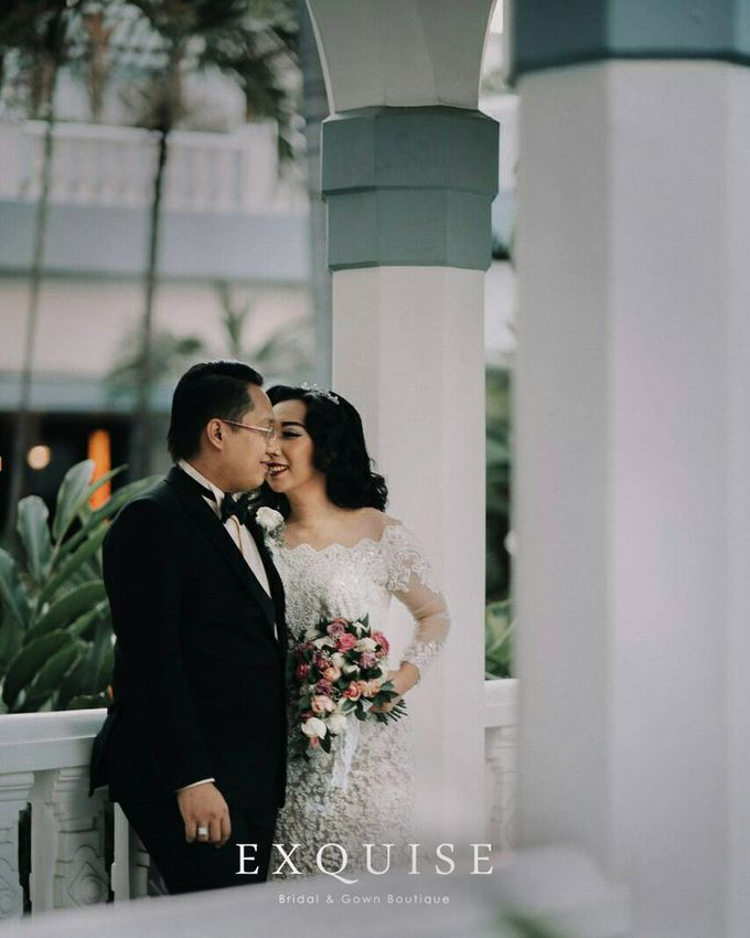 Colleen and Christian Wedding by Exquise Gowns - 004