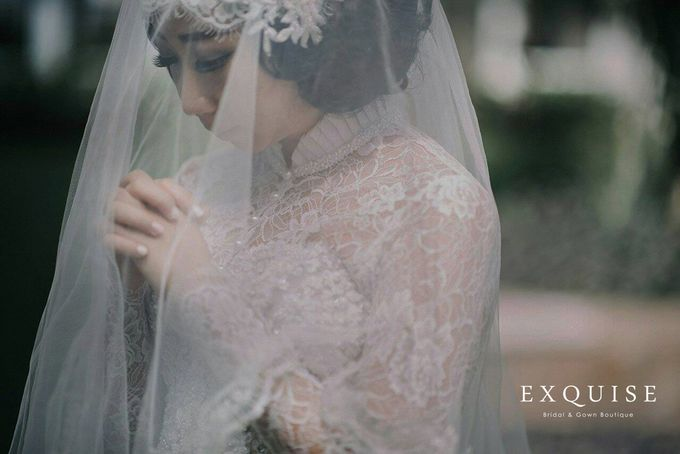 Colleen and Christian Wedding by Exquise Gowns - 005