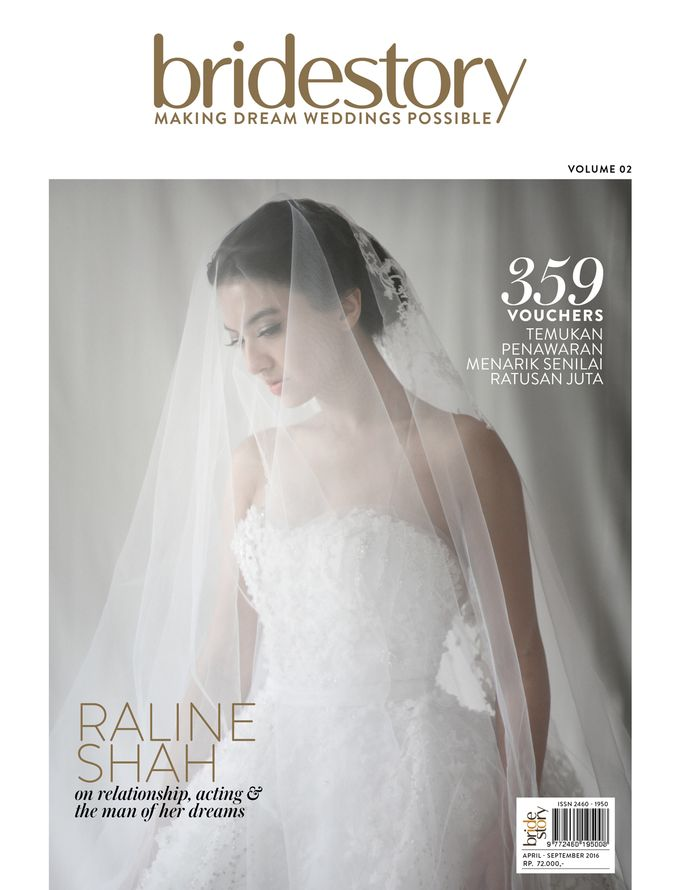 ARALE feat TEX SAVERIO Collection for RALINE SHAH at BRIDESTORY Magazine Second Edition by Bubah Alfian Make Up Artist - 001