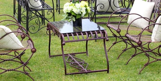 A Selection of Wedding Furniture we have available by Chic Rustique - 013