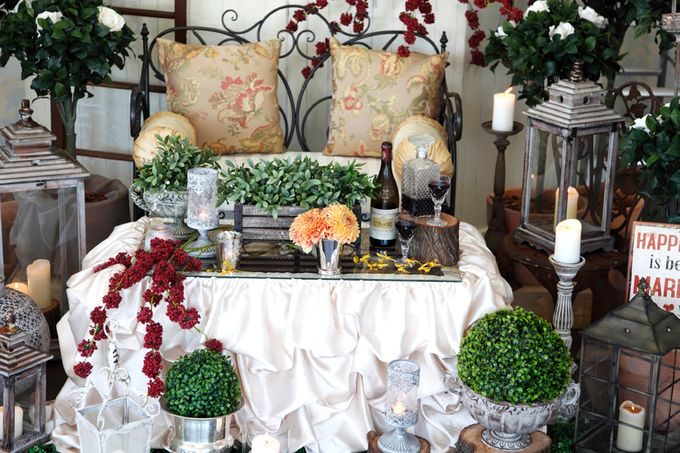 A selection of decorations we have available for hire by Chic Rustique - 027