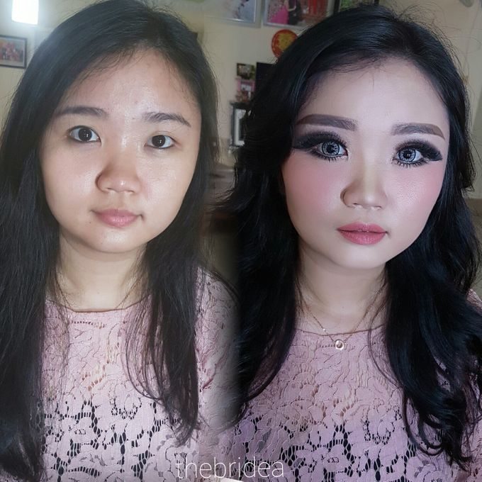 Makeup for Ms Jennifer by The Bridea - 004