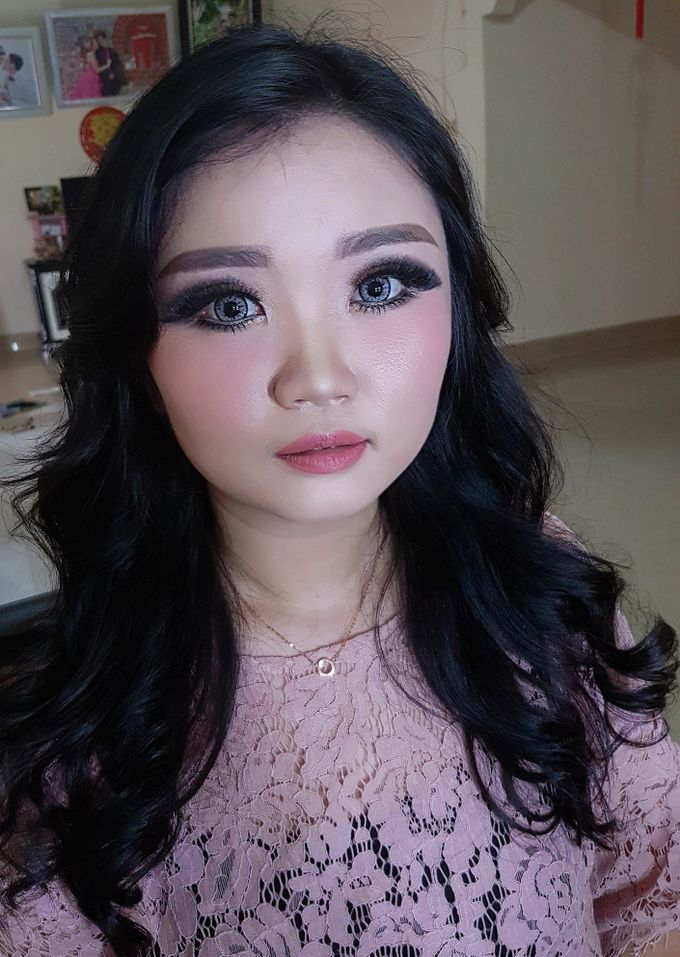 Makeup for Ms Jennifer by The Bridea - 005