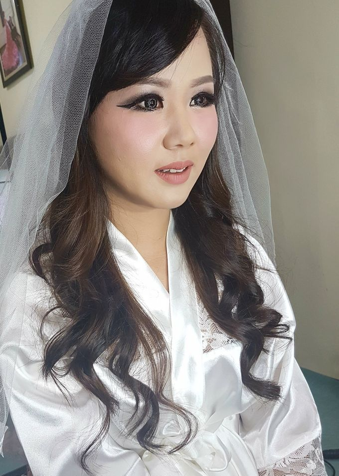 Makeup for Ms Dessy by The Bridea - 001