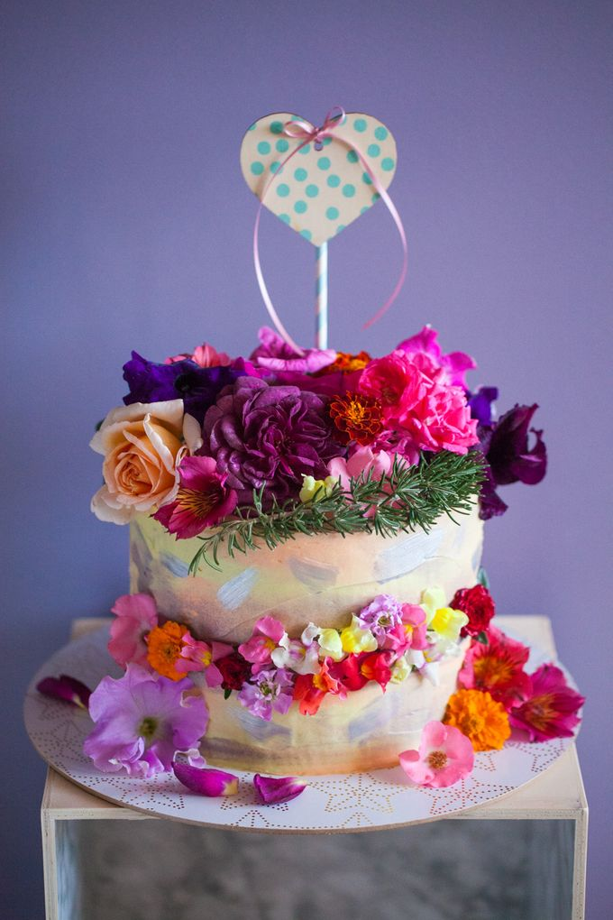 Luscious Blooms by Cake & Wildflour - 005