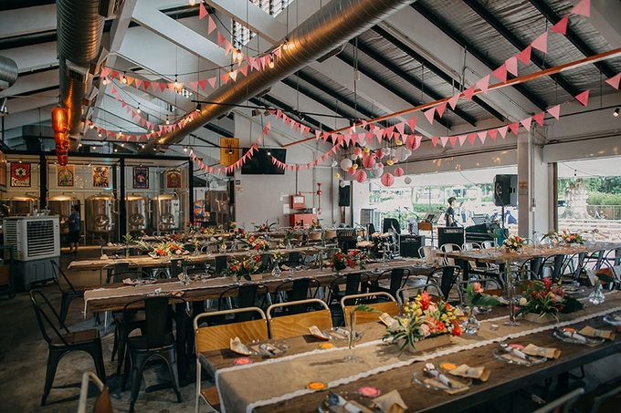 Tropical Quirky Wedding by LITTLE ISLAND BREWING CO. - 003