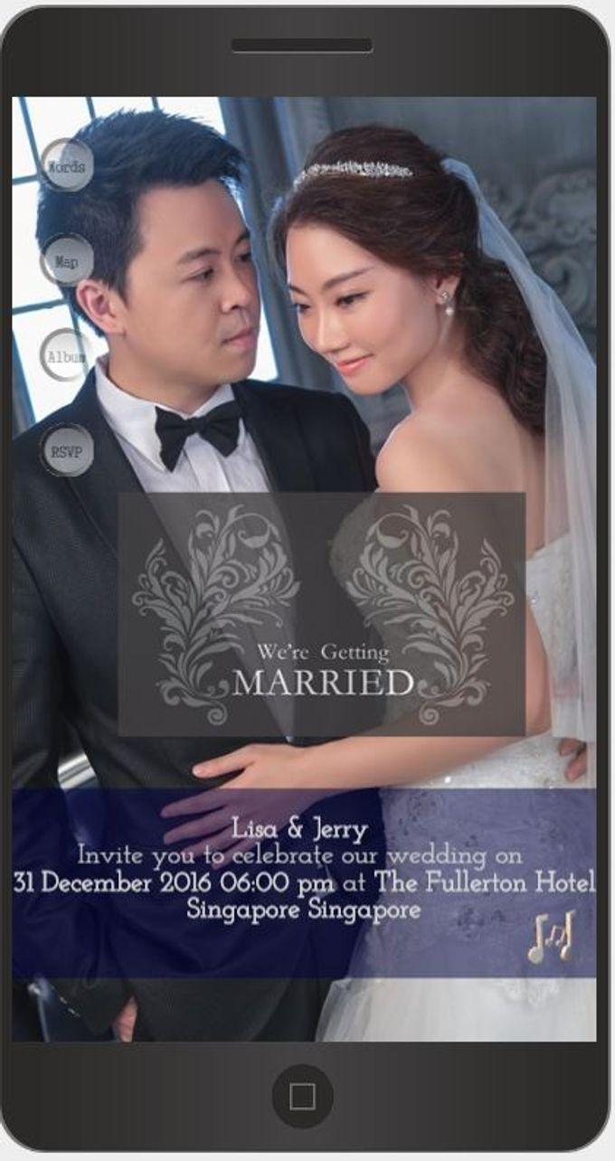 A Mobile Wedding Invitation Webiste by GraceWood.co - 006