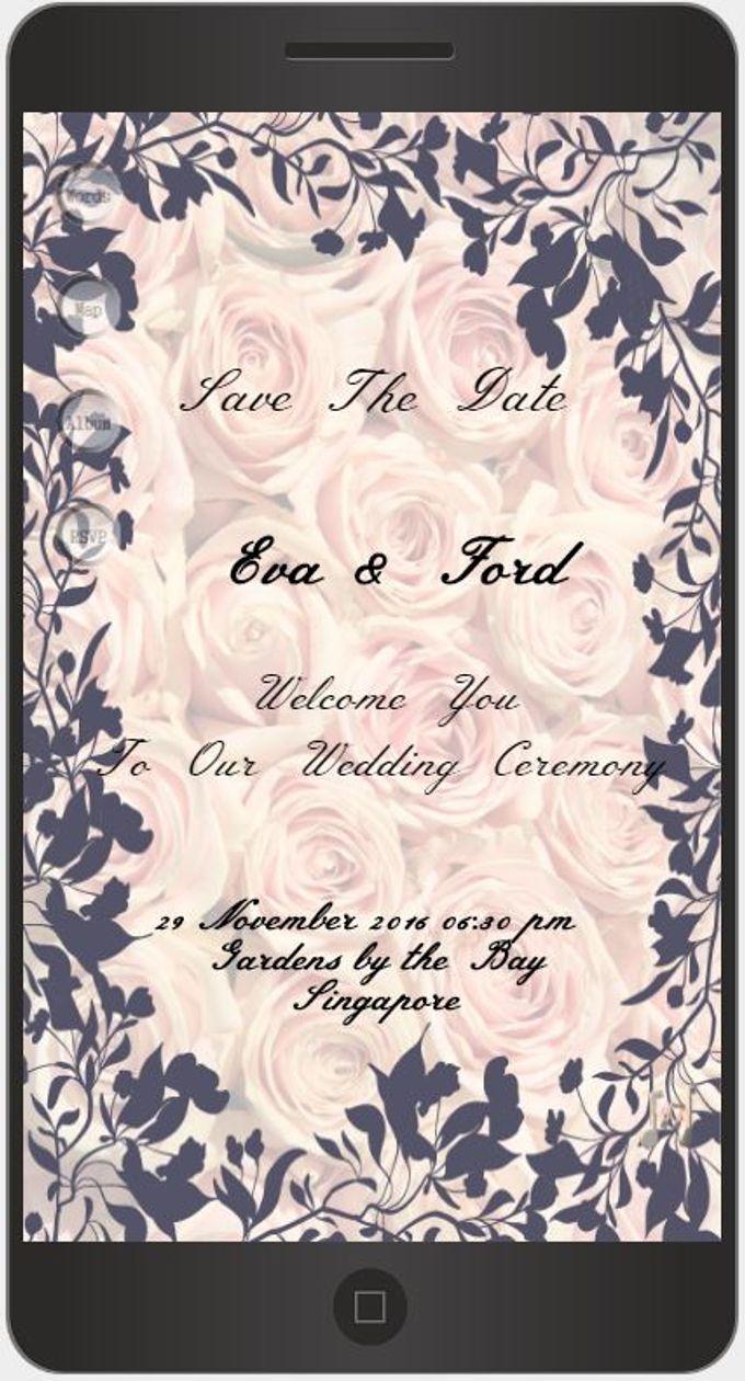 A Mobile Wedding Invitation Webiste by GraceWood.co - 025