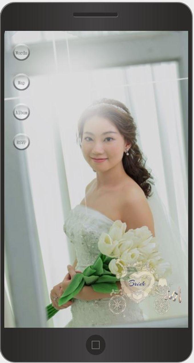 A Mobile Wedding Invitation Webiste by GraceWood.co - 021