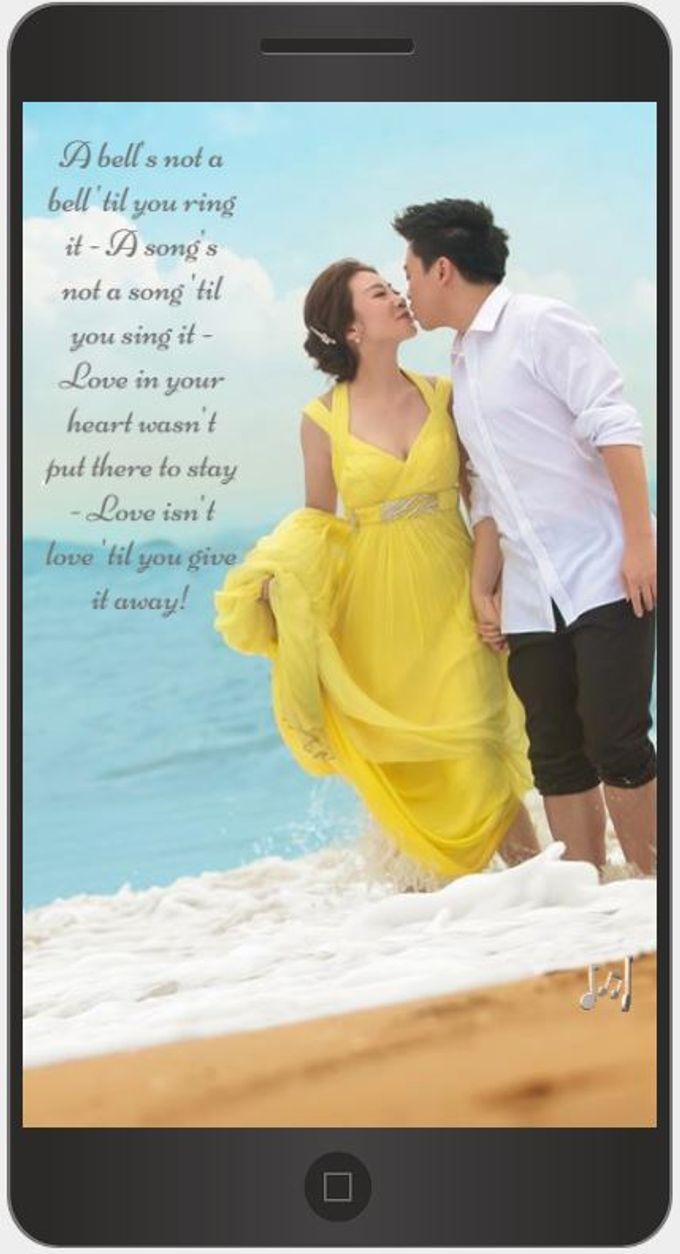 A Mobile Wedding Invitation Webiste by GraceWood.co - 024
