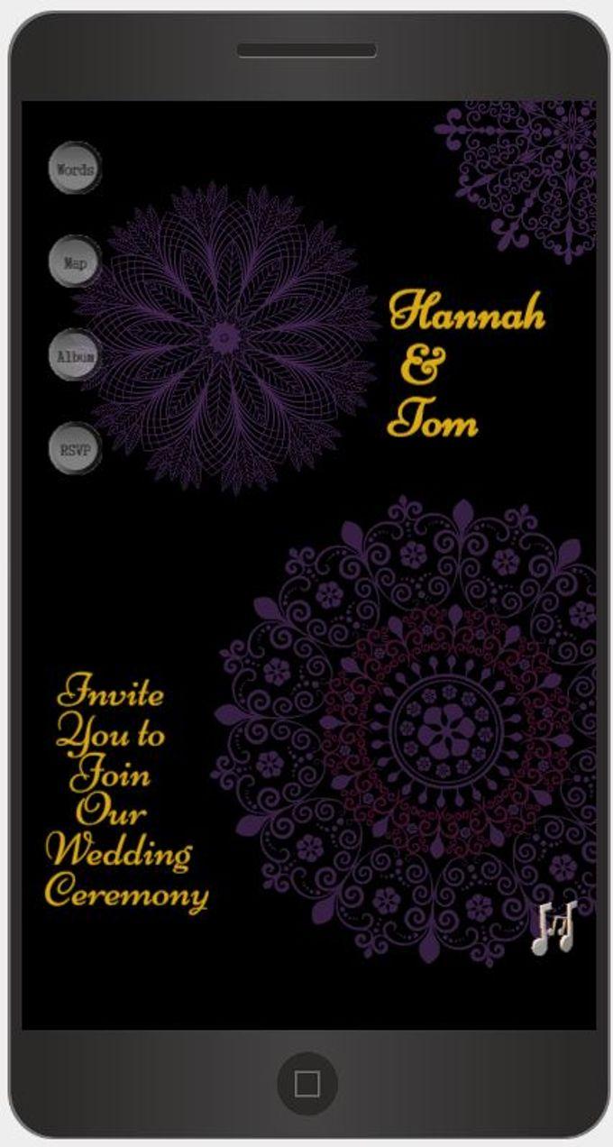 A Mobile Wedding Invitation Webiste by GraceWood.co - 014