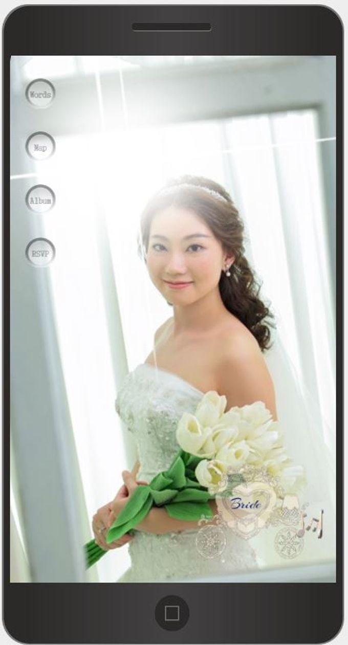 A Mobile Wedding Invitation Webiste by GraceWood.co - 004