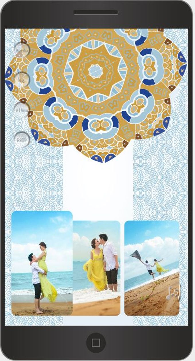 A Mobile Wedding Invitation Webiste by GraceWood.co - 011