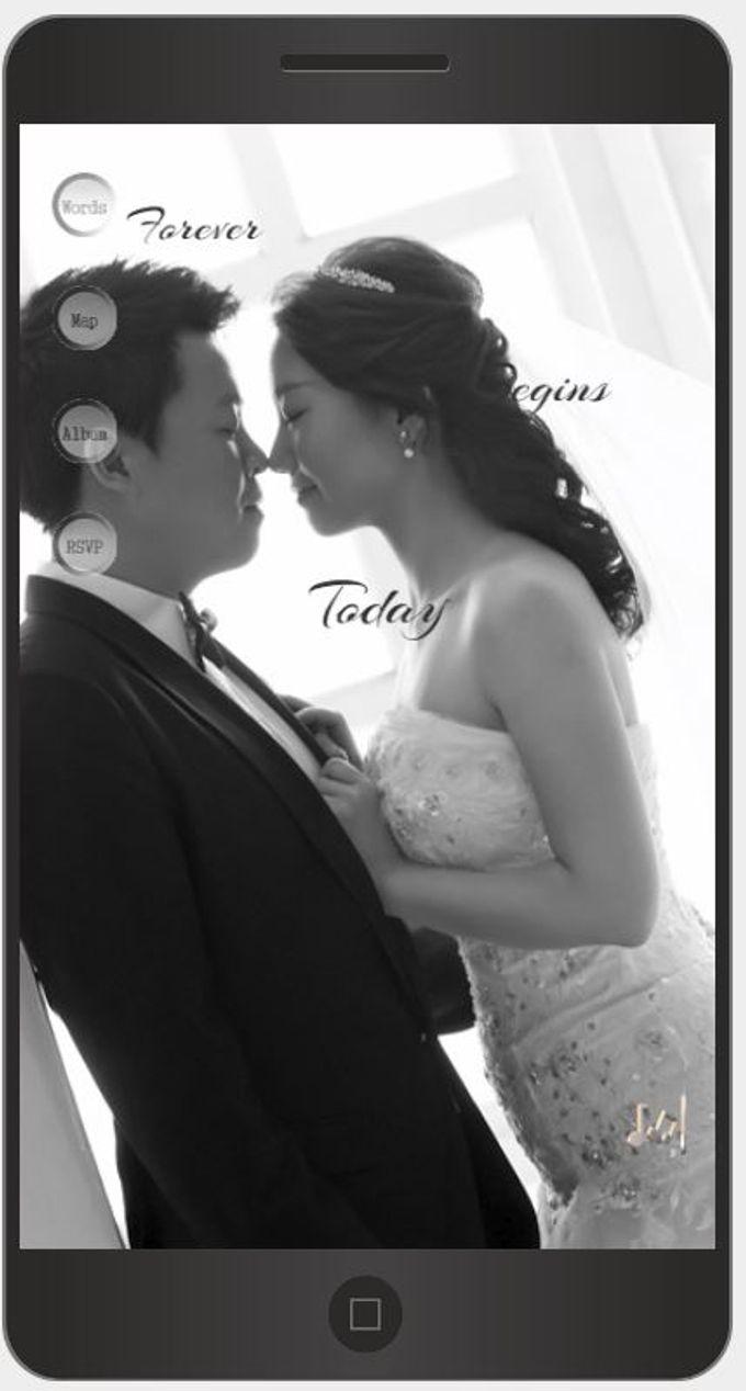 A Mobile Wedding Invitation Webiste by GraceWood.co - 003