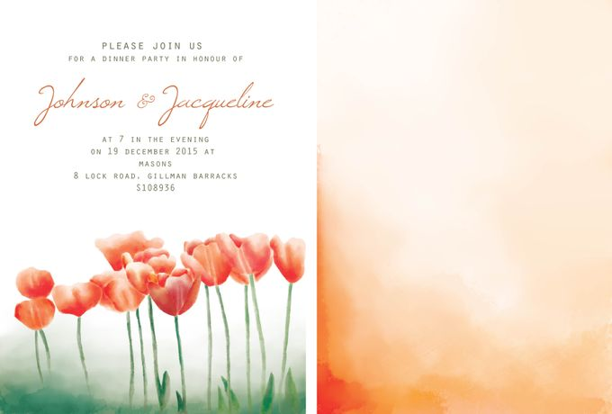 Wedding Invitation suite by Faith Creative Studio - 001
