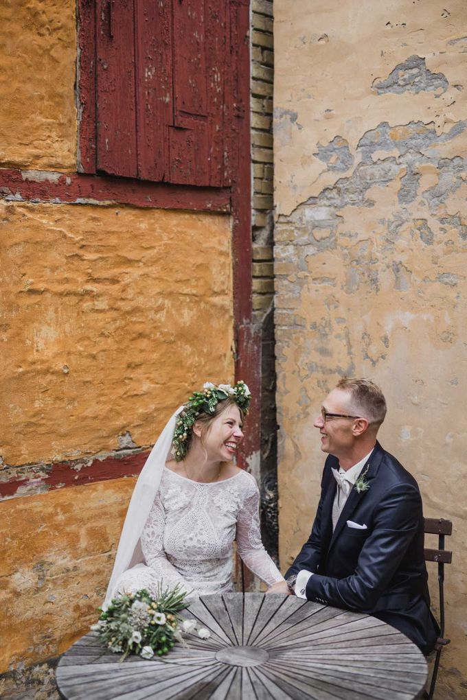 Caroline and Ricco rustic wedding by Atelier of memories - 035