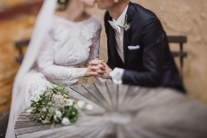 Caroline and Ricco rustic wedding by Atelier of memories - 036