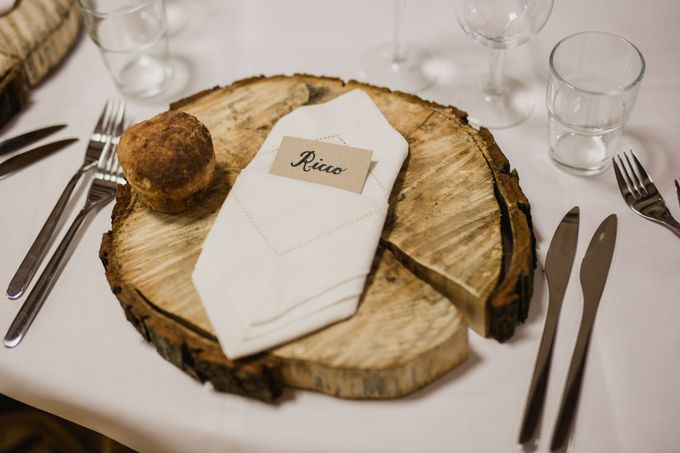 Caroline and Ricco rustic wedding by Atelier of memories - 043